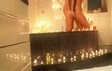 Great massage in bathroom