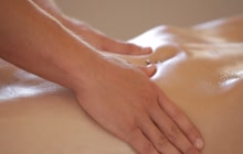 Erotic sex after sensual massage